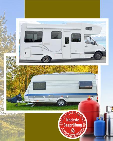 Campingservice G607 Gasprüfung